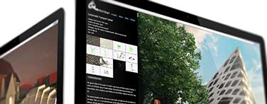 Latest designs: Website and architectural illustrations for HitchStan